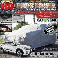 COVER IMPREZA HD TOYOTA ALL NEW YARIS 100% OUTDOOR 4 LAPIS SILVER