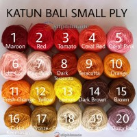 [BN14] Katun Bali Small (#2 Sport) / Benang Rajut