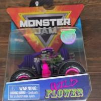 hot Wheels monster jam Wild Flower Ungu Spin Master hotwheels