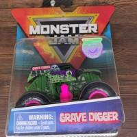 hot Wheels monster jam Grave Digger Ungu Spin Master hotwheels