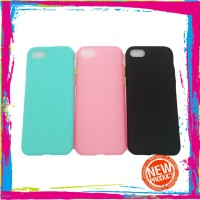 Iphone 7 Plus Softcase Button Candy Colors Case