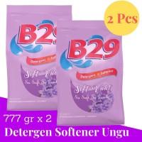 B29 Powder Detergent Ungu Plus Softener 800gr x2pcs