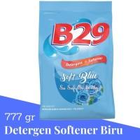 B29 Sabun Pencuci Pakaian Powder Detergent Blue Plus Softener 800 GR