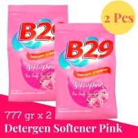 B29 Powder Detergent Pink Plus Softener 800gr x2pcs