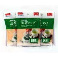 Daiso Filter Bag For Tea 100Pc / Saringan Teh / Kantong Teh