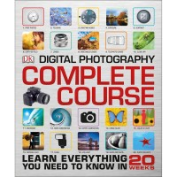 Book Digital Photography Complete Course Hard Cover