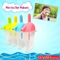Daiso Mini Ice Bar Maker Popsicle - Cetakan Es Batang