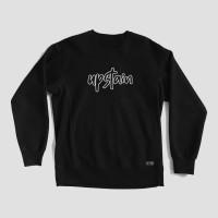 Sweater Distro Glow In The Dark Terbaru GITD Merek Upstain Wear