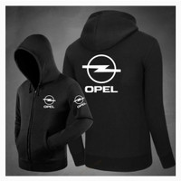 Hoodie Swester Baju Hangat Opel Female Zipper Terlaris