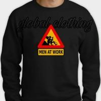 Hoodie Swester Baju Hangat Mens At Work High Quality