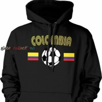 Hoodie Swester Baju Hangat SUPPORTER OF COLOMBIA High Quality