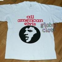 Kaos/Polo shirt/Tshirt All American Elvis Cotton