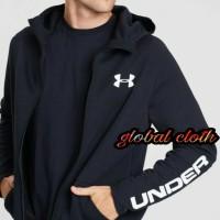 Hoodie Baju Hangat Under Armour Zipper