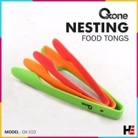 Oxone Nesting Food Tongs OX-31D | Capitan Makanan