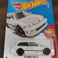 hot Wheels 90 Honda Civic EF putih Hotwheels 2017