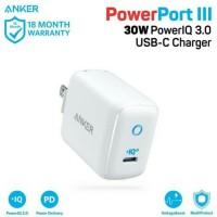 wall charge anker powerport III mini putih