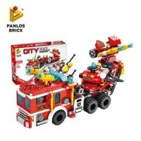 Mainan Edukasi Lego Brick CITY FIRE BRIGADE 12in1 633009 Lego Pemadam