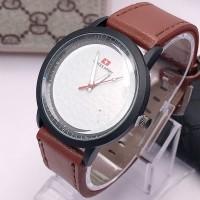 Jam Tangan Pria Fashion Analog Quartz kulit