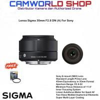 Lensa Sigma 30mm F2.8 DN (A) For Sony E-Mount