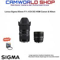 LENSA SIGMA 85MM F1.4 EX DG HSM ART FOR CANON & NIKON