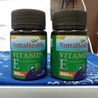 Vitamin E 200iu isi 30 kapsul lunak