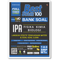 Buku Best Score 100: Bank Soal IPA SMP/Mts 7-8-9, Genta Smart
