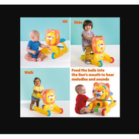 Brightstart Having A Ball 3 in 1 Step & Ride Lion