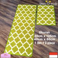 jual tren-d-rugs karpet keset kaki dapur/ lorong/2pcs/set