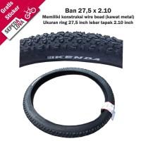 Ban Luar Sepeda MTB Kenda 27,5 x 2,10 Wire Bead