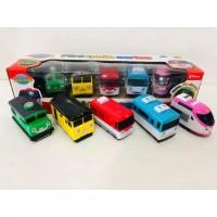 mainan mini trains TITIPO series isi 5 pcs kereta mainan