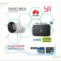 Xiaomi To outdoor IP kamera 1080p + mifi Huawei e5573 + XL 20gb 6 bula