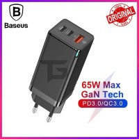BASEUS GaN Fast 65W Travel Charger PD Power Delivery Fast Charging SCP