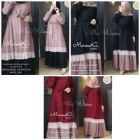Jual Nanda Dress Renda Cantik Gamis Renda Muslimah Busana Hijab Terbaru Kota Bandung Dewshop Tokopedia