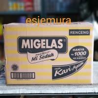 MIGELAS / Mie Gelas Rasa Kari/Soto/Baso Renceng 12x10x28gr
