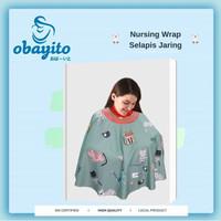 Obayito Apron Nursing Selapis OB-0116 / Apron Menyusui