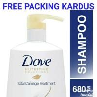 Jual Promo Dove Total Damage Treatment Shampo 680 Shampoo Nutritive Jakarta Barat Adia Id Tokopedia
