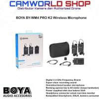 Boya BY-WM4 BY WM-4 Pro K2 Wireless Microphone