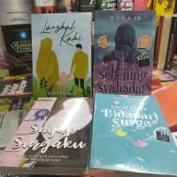 Paket novel islami-langkah kaki sebening syahadat sayap surgaku surat
