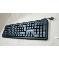 KEYBOARD USB/OFFICE MURAGO K200 BLACK MURAH MURMER SALE PROMO DISKON