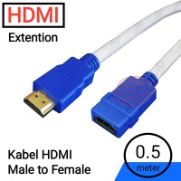HDMI Extension Cable~Kabel Perpanjangan HDMI~50cm