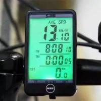 SunDing Speedometer Sepeda Touch LCD
