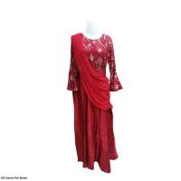 629.Gamis Muslim Wanita FHA BURKAT