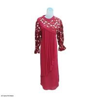 627.Gamis Muslim Wanita FHA BURKAT