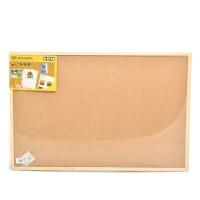 Bi-Silque Cork Board Papan Buletin 90x60 Cm