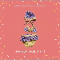 Swimsuit Anak 3 in 1