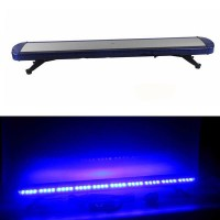 Lampu Rotator Sirene Polisi SLIM Lightbar Power Led Sirene Mobil Biru