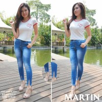 Celana Jeans Cewek Martin Original Product Import Best Quality