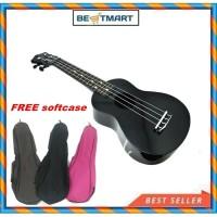 Gitar UKULELE GRANDE SOPRANO 21 + SOFTCASE WARNA