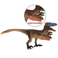 Utahraptor Figure Dinosaurus Model Simulasi Dino