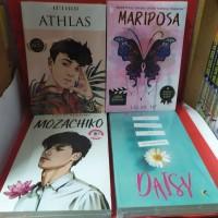 Paket empat novel athlas mariposa mozachiko daisy